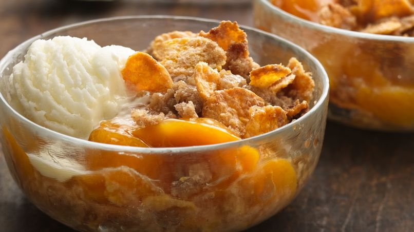 Crunchy Fruit Crisp