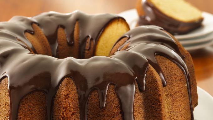 Golden Pound Cake