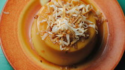 Coconut Flan with Stevia