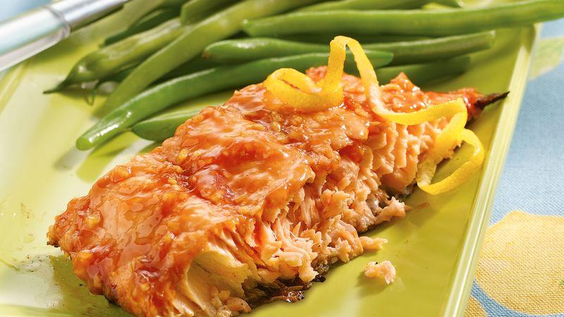 Grilled Ginger Salmon Fillets