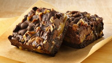 Gluten-Free Turtle Brownies