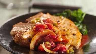 Cajun Smothered Pork Chops