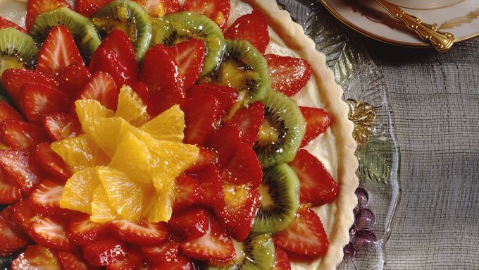 Orange-Glazed Strawberry Tart