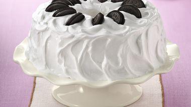 Cookies and Cream Angel Cake