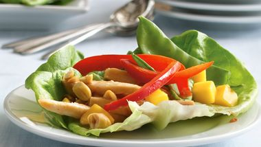 Chicken-Filled Lettuce Wraps