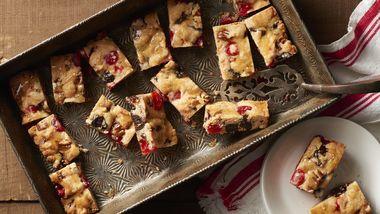 Festive Fruitcake Bars