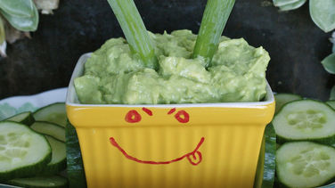 Green Onion and Yogurt Guacamole