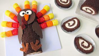 Turkey Roll Cake