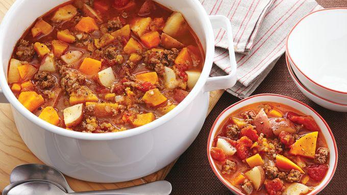 Ground Beef Vegetable Stew