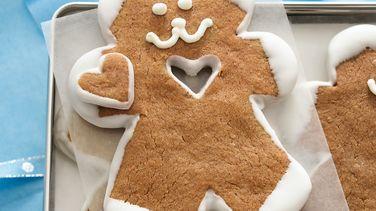 White Chocolate Gingerbread Bears