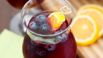 Blueberry-Ginger Sangria