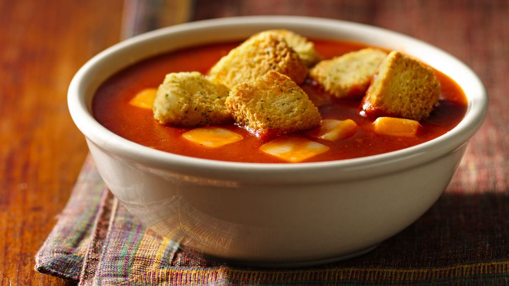 Grilled Cheese-Tomato Soup