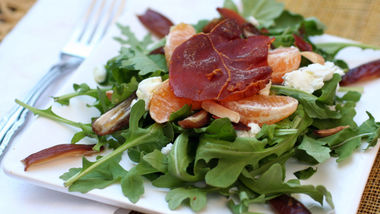 Crispy Prosciutto and Orange Salad