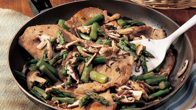 Veal with Asparagus recipe - from Tablespoon!