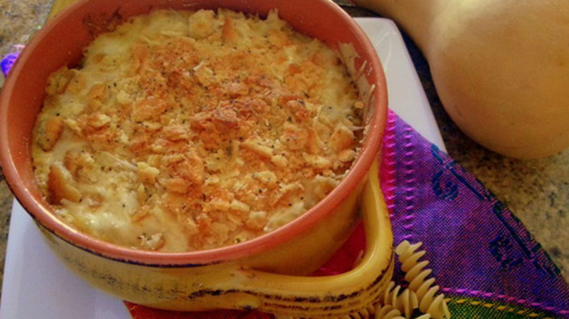 Butternut Squash Cream Fussilli Pasta