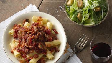 Slow-Cooker Meaty Italian Spaghetti Sauce