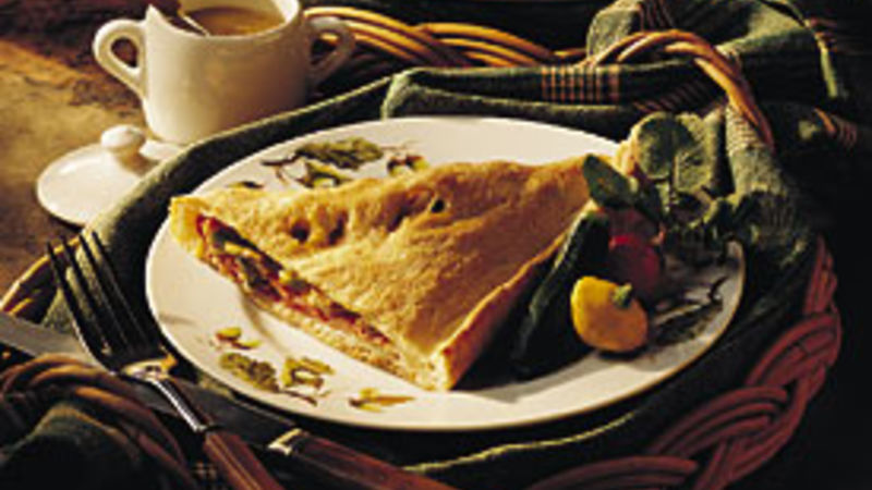 Beef and Cheese Calzone