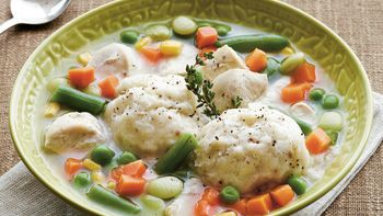 Chicken and Sage Dumplings