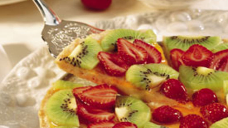 Strawberry Kiwi Tart
