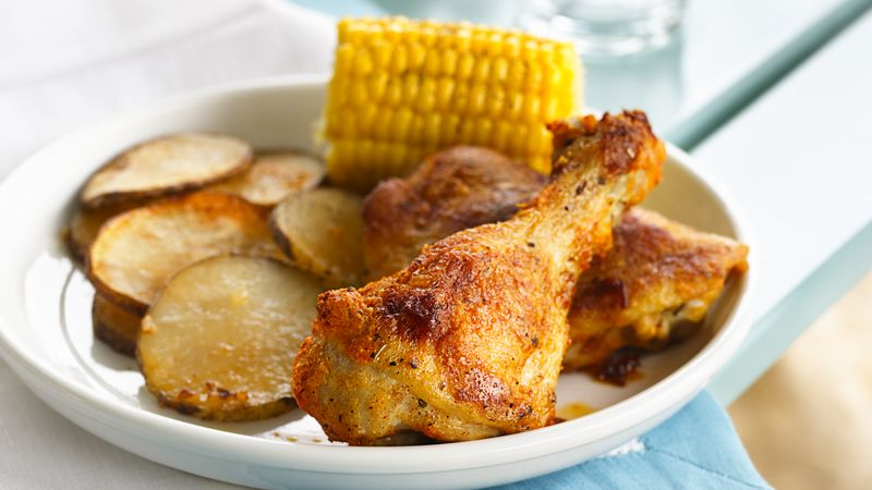 Parmesan Oven-Fried Chicken