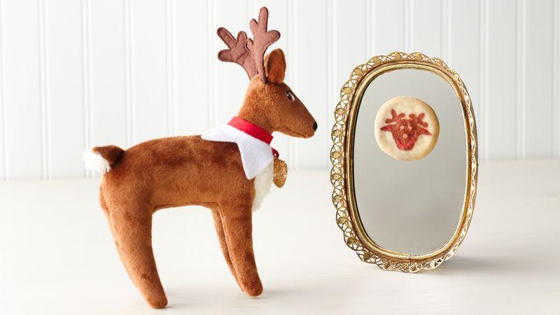 Reindeer Cookie Mirror