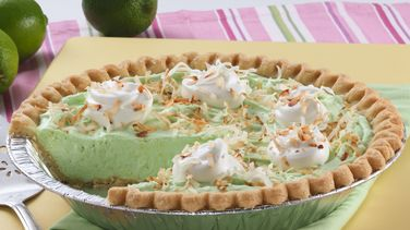 Creamy Lime Colada Pie