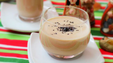 Chocolate Coquito for Kids