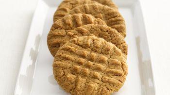 Skinny Peanut Butter Cookies