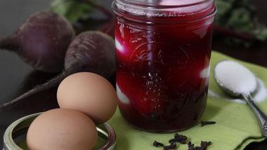 Beet-Pickled Eggs
