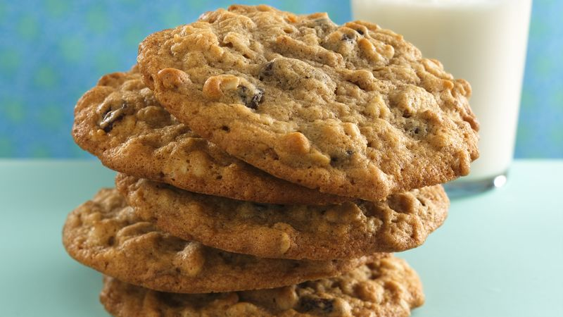 Cinnamon-Raisin-Oatmeal Cookies recipe from Betty Crocker