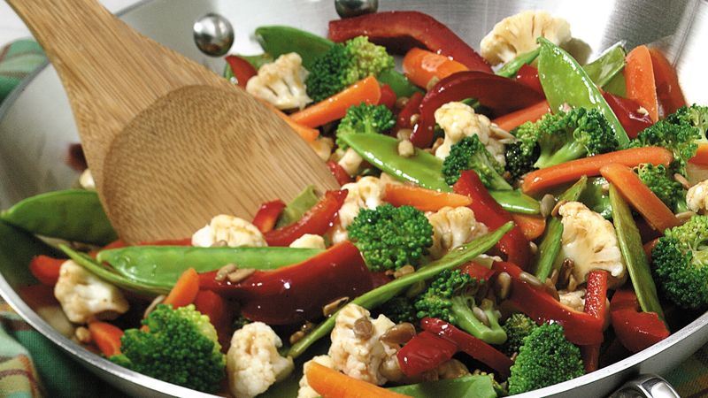 Salad Bar Vegetable Stir-fry