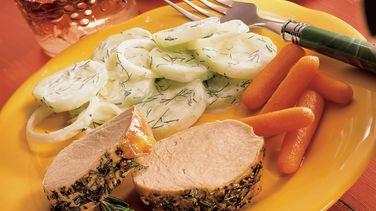 Rosemary Roasted Pork Tenderloin