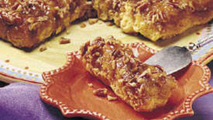 Sweet Potato-Caramel Twist Coffee Cake