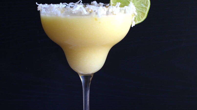 Coconut and Pineapple Margarita