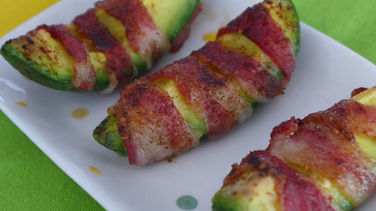 Bacon Wrapped Avocado