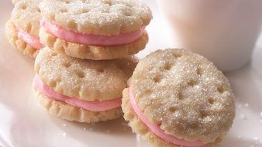 Yummy Little Almond Sandwich Cookies