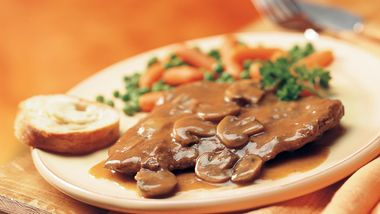 Slow-Cooker Swiss Steak and Gravy