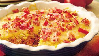 Chicken-Chile Enchilada Pie