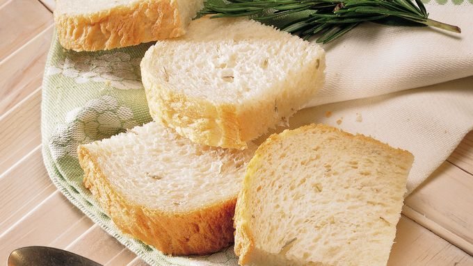 Bread Machine Potato-Rosemary Bread