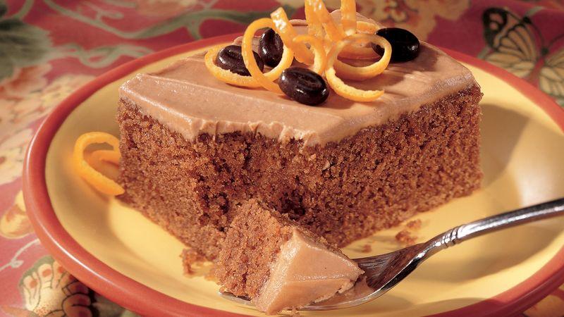 Orange Cappuccino Cake