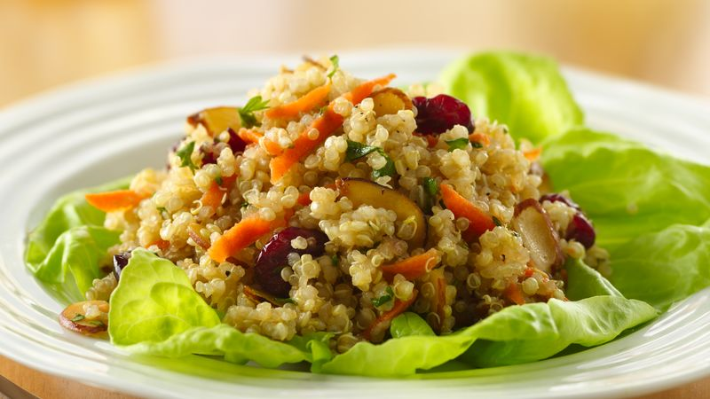 Quinoa-Almond Salad