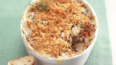 Turkey and Wild Rice Casserole