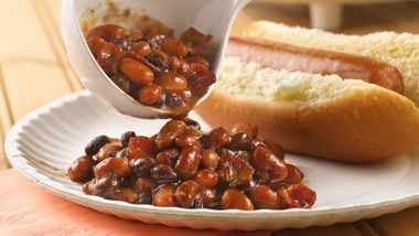 Slow-Cooker Barbecued Beans