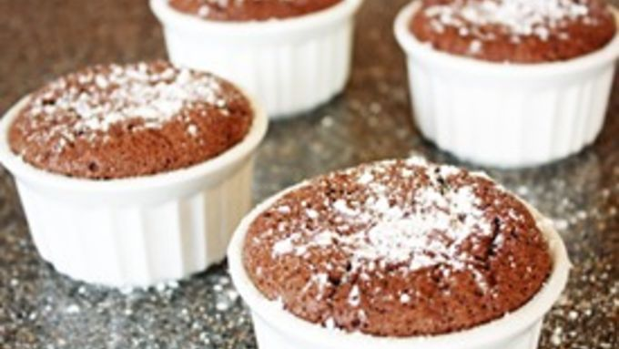 Mini Chocolate Souffles