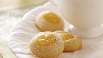 Lemon Tea Cookies