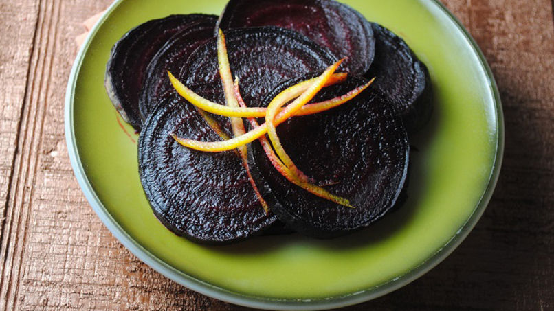 Oven Roasted Beets with Citrus Glaze