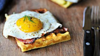 Potato Dill Waffles