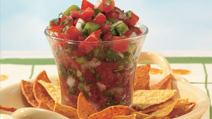 Fresh Tomato Salsa recipe - from Tablespoon!