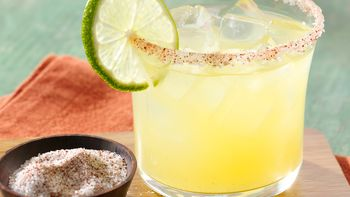 Citrus Margarita with Smoky Chile Salt