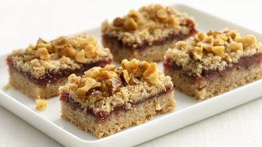 Skinny Raspberry Bars
